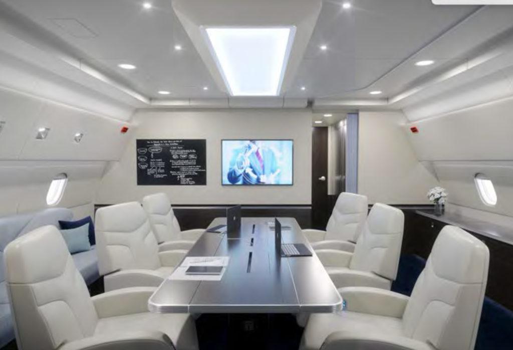 Boeing 767 cabin interior