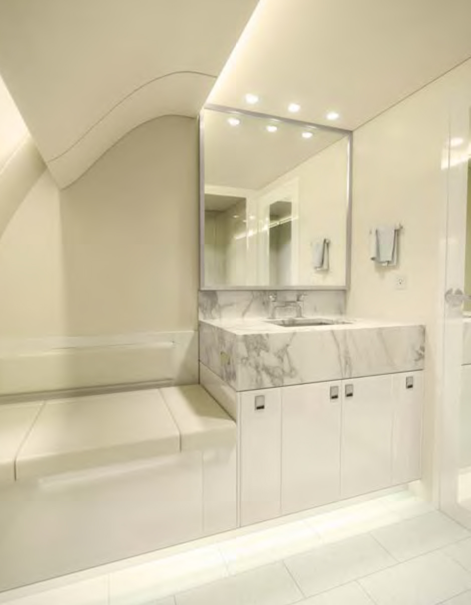 High Quality Airplane Lavatory Enclosures, Toilets, and Sinks