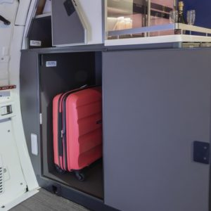 Airplane interior products from GAL