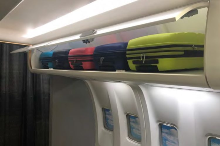 Airplane Overhead Bin Modification